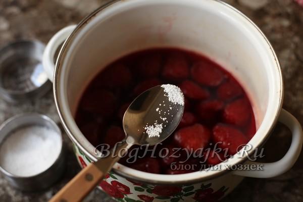 "Варенье из клубники ""Пятиминутка"" – как бабушка варила"