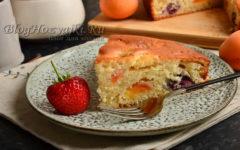 Ягодный пирог в духовке