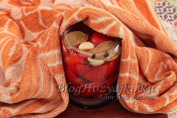 Помидоры половинками на зиму: 8 пошаговых рецептов пальчики оближешь
