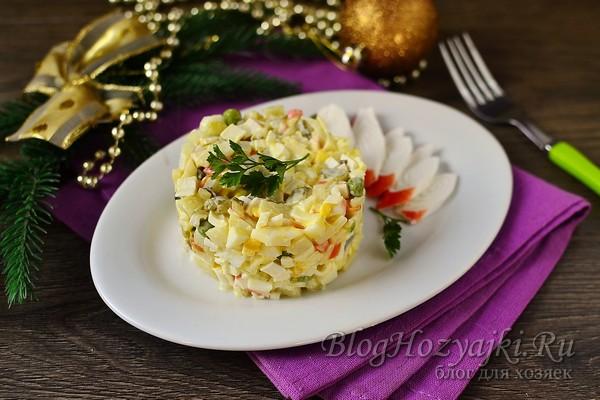 Вкусные и простые салаты на Новый 2021 год