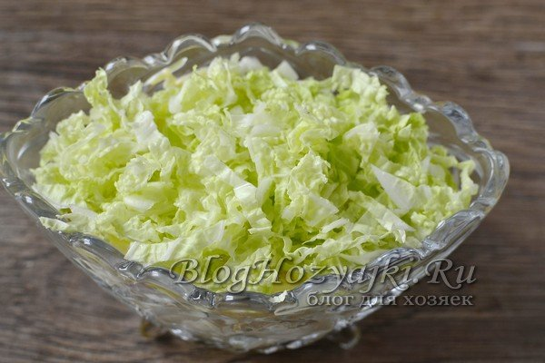 Нежный и вкусный салат «Лебединый пух»