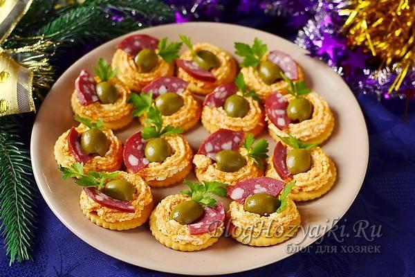 Закуски на Новый год 2022 Тигра - 8 вкусных и простых рецептов