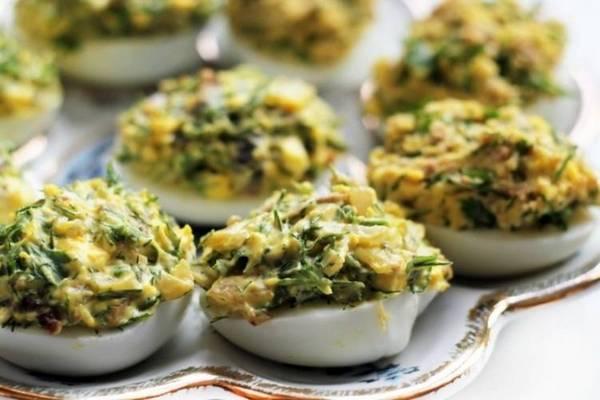 25 вариантов фаршированных яиц на праздничный стол