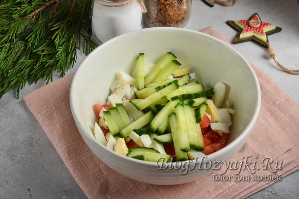Салаты без майонеза на Новый год 2021 - 5 простых и вкусных рецепта