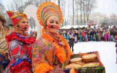 Проводы зимы в России