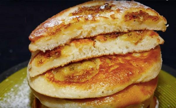 Банановые панкейки - 7 вкусных и быстрых рецептов