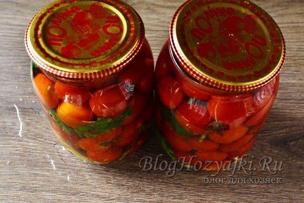 6 очень вкусных рецептов маринованных помидоров черри на зиму
